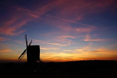 Brill Windmill (darrenhopkins) Tags: pink orange blue sky sonya7 sony aylesbury bicester windmill brill sunset
