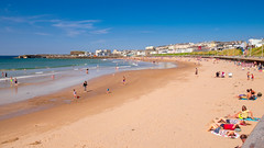 Portrush West Strand (Deirdre Gregg) Tags: portrush sea coast ireland sand beach summer