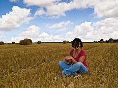 Field's mine... (Gilles,Gilles,Lemonpeel) Tags: picardie wheat portrait rawtherapee nikon