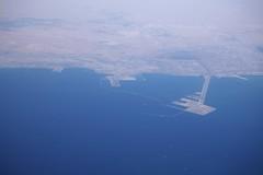 Al Jubail (Szad-Arbia) - King Fahd Industrial Port, Saudi Aramco Shell Kolajfinomt (sandorson) Tags: refinery saudiarabia szadarbia aljubail aerial
