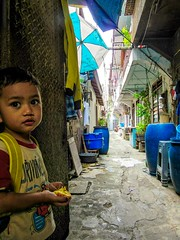 Back lanes of Chinatown (SqueakyMarmot) Tags: travel asia indonesia java jakarta glodok chinatown child boy backlane alley 2016
