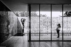 Van Der Rohe 2945 (kingeston) Tags: kingeston nikon d7000 barcellona barcelona spagna spain espana padiglione mies van der rohe bn bw bianco nero black white noir blanc architettura architecture geometry geometrie