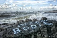 Orkan Bodil (anhe73) Tags: dnemark danmark denmark nordseekste sturm storm meer sea hav vesterhav vind northsea vestksten wave blge