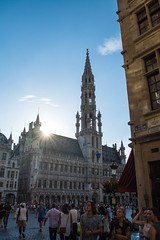 Grote markt, Brussels (PurePhotography~Thiagu S) Tags: grote markt grand place stadhuis brussels