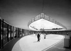 Quartier des Blagis, Sceaux, 1961 (Archives photographiques du MRU) Tags: 1961 sceaux hautdeseine iledefrance centrecommercial commerce equipement grandensemble urbanisme logement industrialisation