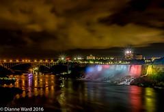 Day 245/366 Niagara Falls Illumination (Tewmom) Tags: 366the2016edition 3662016 day245366 1sep16 niagara niagarafalls canada ontario falls niagarafallsillumination landscape americanfalls
