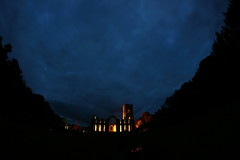 IMG_1473 (Yorkshire Pics) Tags: 0810 08102016 october fountainsabbey fountainsabbey2016 fountainsabbeyatnight2016 fountainsabbeyatnight yorkshire nationaltrust 8mm fisheye fisheyelens samyang samyang8mm night nightshot nightphotography nightscene nightscape photographyatnight photographybynight photographingthenight photographingatnight