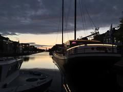 Open (10-us) Tags: night pannenkoekschip avond water sun sunset vaart 2016 assen