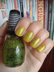Grama molhada - Colorama + Call you later - Sinful Colors (Mari Hotz) Tags: gliter glitter esmalte unha amarelo verde sinfulcolors colorama
