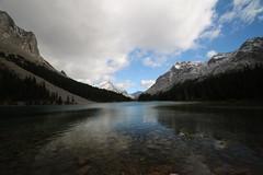 Elbow Lake Kananaskis Alberta Canada (davebloggs007) Tags: elbow lake kananaskis alberta canada september 18th 2016 mountains rockies blue sky