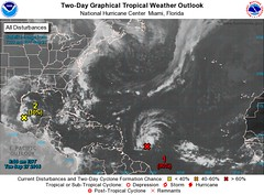 SEVERE WEATHER STATEMENT #5 for BARBADOS (Gas Stations close at 6 pm, Transport Board's last buses 8 pm) (bajanreporter) Tags: aircraft barbados forecast hurricane weather