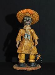 Tlacololeros Dancer Pottery Oaxaca (Teyacapan) Tags: ceramics pottery folkart aguilar oaxaca mexico mexican guerrero dancer tlacololeros crafts artesanias