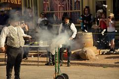 Pikachu Dies by shotgun (Nobiefromcg) Tags: pokeman shotgun tombstone wild west wildwest ok corral arizona costume reenactment boot hill western showdown props actor