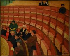 VALLOTTON Flix,1895 - La Troisime Galerie du Thtre du Chatelet (Orsay) - 0 (L'art au prsent) Tags: art painter details dtail dtails detalles painting paintings peinture peintures 19th 19e peinture19e 19thcenturypaintings 19thcentury detailsofpainting detailsofpaintings tableaux orsay troisimegalerieduthtreduchatelet troisime galerie thtre theatre chatelet chateletleshalles halles paris figure figures personnes people woman women man men homme femmes parisien parisian france show spectacle entertainment divertissement fun amusement sortie orange siges seats seat salle bois wood thtreduchatelet flixvallotton flix vallotton