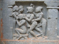 Hosagunda Temple Sculptures Photos Set-1-Erotic sculptures (9)