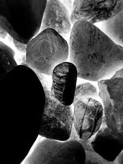 Flying stones (One-Basic-Of-Art) Tags: flying fliegen fliegende stone stones stein steine grau gris gray blackandwhite black white schwarzundweis schwarz weis weiss noiretblanc noir blanc fotografie foto fotos photography photo photos photoart fotoart art kunst artwork kunstwerk creative 1basicofart anne woyand annewoyand abstract abstrakt
