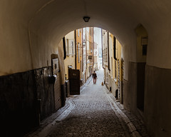Stockholm (mikaelstahle) Tags: stockholm urban street candid shot photography city life building houses gamlastan oldtown sweden snap
