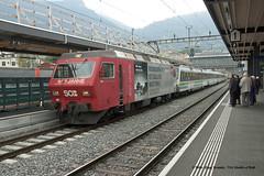 07/10/2016 - Arth-Goldau, Switzerland. (53A Models) Tags: südostbahn sob re456 bobo 456095 electric arthgoldau switzerland train railway zug eisenbahn