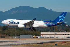 C-GTSJ - Air Transat - Airbus A330-243 (T&G/Photo) Tags: canada vancouver air columbia international airbus british yvr transat cyvr a330243 cgtsj