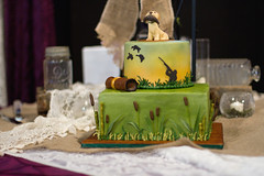 Groom's cake- duck hunting (JNT Visuals) Tags: wedding center 66 reception chandler ok rt interpretive