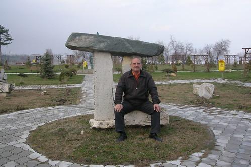 TECHIRGHIOL - Radu at the Salt Lake Stonehenge :)