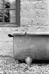 Bath (Matthew McCutcheon) Tags: newzealand blackandwhite bw film matt blackwhite aperture bath matthew elements nz epson filmcamera cromwell quintin filmscan blackandwhitefilm v700 mccutcheon filmimage ilfotec oldcromwell oldcromwelltown ilford400pan