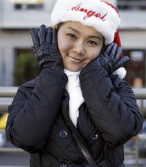 (Daluke) Tags: christmas beauty leather fashion models hats vogue gloves leathergloves purdypeeps