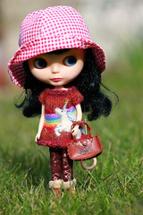 Is it summer yet?  I have my bonnet and bag! :)