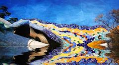 GAUDI (davidpuig | photography) Tags: barcelona sculpture espaa texture textura spain arquitectura bcn catalonia escultura gaudi catalunya parcguell 2009 salamandra catalua arquitecture photomix espanya 450d tatot bestcapturesaoi bestevercompetitiongroup besteverexcellencegallery