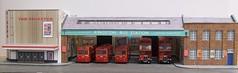 Kingston bus station (kingsway john) Tags: kingsway models card kit 176 scale bus london transport model efe rt rf londontransportmodel diorama oo gauge miniature