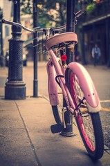 Pinkie EXPLORE Apr 6, 2013 #21 (Dr_Fu_Manchu) Tags: pink bike bicycle handle bars seat spokes wheels tires fender pedal cmwdpink thechallengefactory cmwdweeklywinner 50bikeswitha50mm