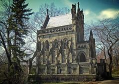 Dexter Mausoleum (sharon'soutlook) Tags: ohio cemetery architecture cincinnati springgrovecemetery dextermausoleum gothicstructure