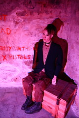 Punk in the bastion tunnels (amniisia) Tags: history museum punk tallinn estonia tunnel bastion kiekindekk