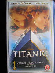 Titanic VHS Version 1997. USA. (Jimmy Big Potatoes) Tags: films movies dvds vhs rmstitanic