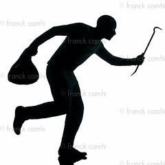 man thief criminal running (Franck Camhi) Tags: shadow people man male silhouette mystery cutout person one 1 gangster holding escape adult mask profile fulllength evil indoors criminal whitebackground crime thief mysterious hood studioshot robbery sideview anonymous burglary isolated stealing oneperson burglar intruder robber crowbar holdup oneman escaping looting robbing unrecognizable