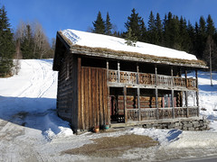 Old Norwegian farmhouse (Vidar Ringstad,Skedsmo) Tags: trees winter shadow sun house snow cold sol nature sunshine norway wall farmhouse forest canon norge frozen vinter google europa europe flickr frost stones hill natur norwegen images powershot oldhouse veranda skog stonewall scandinavia telemark hus sn steiner trr solskinn s100 skygge altan skandinavia kaldt mot s naturepic naturbilde wodds husmannsplass vningshus amodt vidarringstad