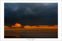 sun after storm (Emmanuel DEPARIS) Tags: light sunset storm beach clouds sunrise fort dune sable cote emmanuel mahon ambleteuse dopale deparis