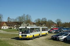 Der Einsatz des MAN-Busses soll eine Ausnahme bleiben, ab Dienstag verkehrt stattdessen der Niederflur-Gelenkbus 5815 vom Typ 'O405GN' (Frederik Buchleitner) Tags: man bus munich münchen shuttle messe omnibus shuttlebus bauma gelenkbus ocm messemünchen sg240h omnibusclub omnibusclubmünchenev mxa4498h
