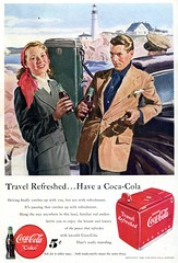 1949 Coca Cola Coke Advertising National Geographic June 1949 (SenseiAlan) Tags: june advertising cola coke national cocacola coca geographic 1949