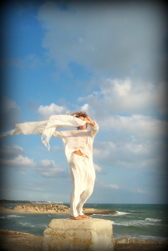 Dance with the wind.