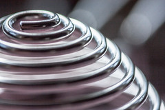 Ever Decreasing Circle (rosejones1uk) Tags: macro metal circle bokeh curves macromonday