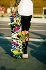 waiting... (Alberto Della Beffa) Tags: life torino moments tour skateboarding pigeons spot skate sbnk