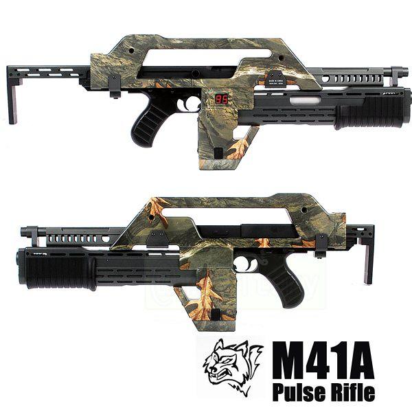 【異形】M41A 脈衝步槍 1/1電動槍