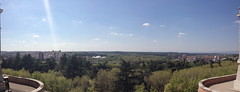 Panorama from the Spanish Royal Palace (markjelinsky) Tags: madrid espaa de real spain community europa europe union royal el palace spanish comunidad reino palacio espaol