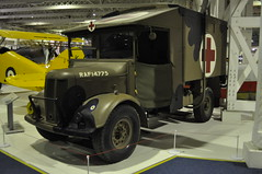 Austin K2 Ambulance (Richard.Crockett 64) Tags: london austin ambulance ww2 k2 britisharmy raf worldwartwo militaryvehicle hendon royalairforce royalairforcemuseum historichangars