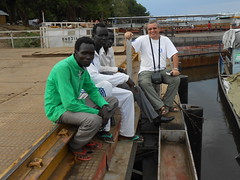 Vincentello au port de Juba (vincentello) Tags: port river south sudan nile nil sud soudan juba vincentello