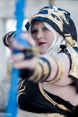 Ashe (skwinky) Tags: city cosplay legends league ashe ellicott
