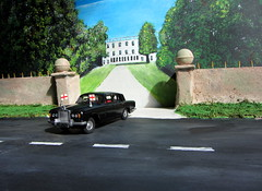 Dinky Toys Rolls-Royce Silver Shadow No. 158 Restoration And Conversion Diplomat Car 1968 : Diorama - 2 Of 29 (Kelvin64) Tags: shadow silver toys conversion no rollsroyce and restoration 1968 diorama 158 dinky