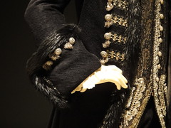 The Duke from The Duchess (EstelofImladris) Tags: museum fur costume cut coat duke exhibit frock ralph bowers duchess the fiennes