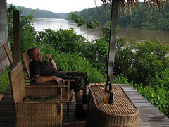 This Is the Life! (icajoleu) Tags: beer centralafricanrepublic sanghalodge